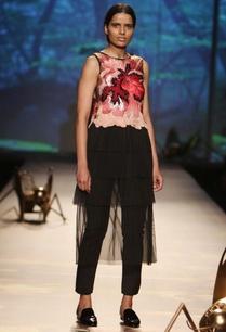 black-dusky-rose-pink-embroidered-dress