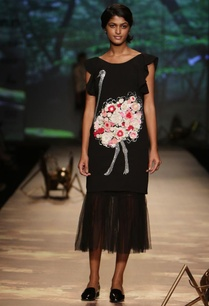 black-ostrich-applique-dress-with-underskirt