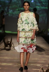 pale-green-floral-printed-cold-shoulder-dress