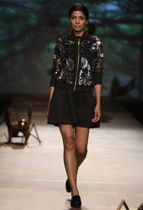black-net-sequined-bomber-jacket