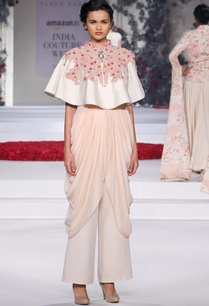 ivory-floral-embroidered-cape-with-pink-draped-trousers