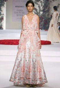 ivory-and-pink-floral-printed-gown