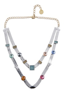 multicolored-embellished-layered-necklace