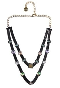 gunmetal-embellished-double-layered-necklace