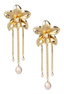 orchid-drop-earrings