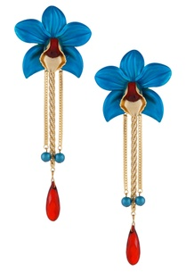 turquoise-floral-drop-earrings