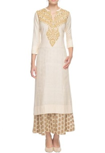 white-sequin-embroidered-kurta-with-palazzos
