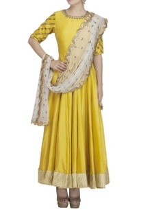 yellow-gold-embroidered-anarkali-set