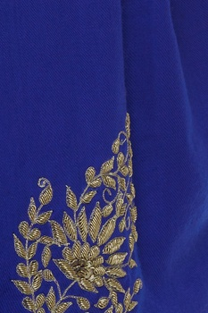 Zardosi and dori embroidered shawl