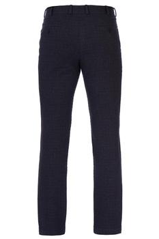 Dark grey textured wool pants