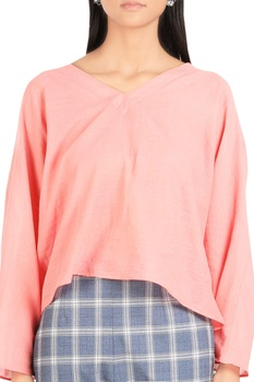 Normcore anti-fit blouse