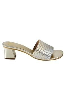 Block Heel Sliders sandal