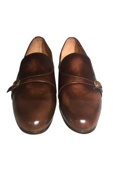Handcrafted pure leather formal loafers