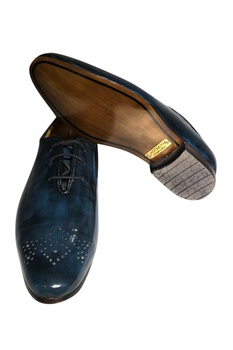 Pure leather handcrafted brogues