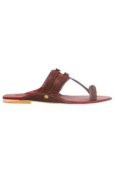 Premium leather kolhapuri sandals