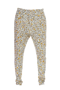 Cotton lycra printed trousers