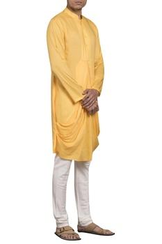Drape front straight kurta