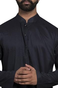 Front drape straight fit kurta