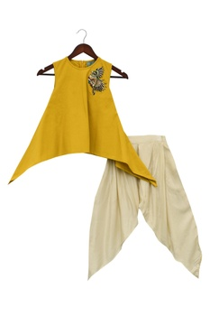 Kurti with dhoti pants