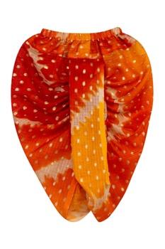 Gota Embroidered Angrakha With Dhoti Pants