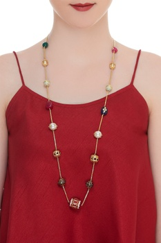Jadau work necklace