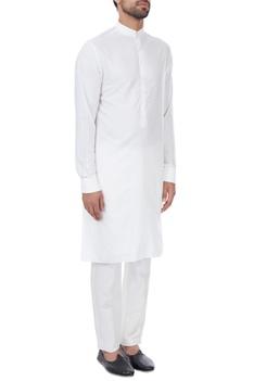 White classic style kurta