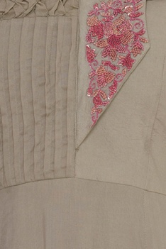 French knot embroidered kurti
