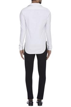 Classic White Collared Shirt