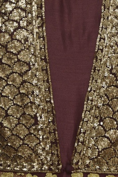 Anarkali Gown With Sequin Embroidered Jacket
