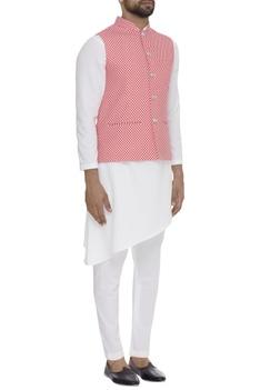 Digital Printed Nehru Jacket