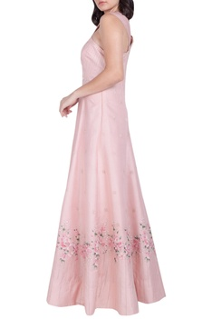 Embellished floor length gown