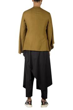 Draped Layered Style Jacket kurta