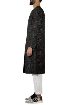 Textured Long Jacket kurta