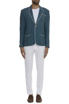 Notch Collared Blazer