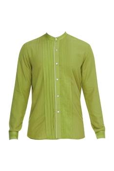 Pleated panel Shirt