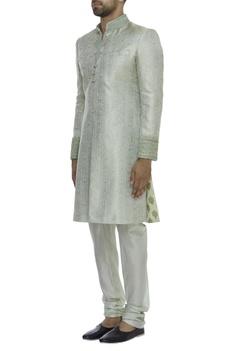 Brocade Embellished Sherwani Set