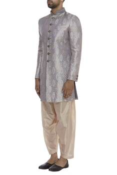 Brocade Embroidered Sherwani Set