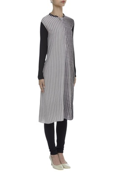 Striped Dual Hued Tunic