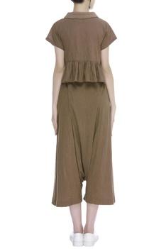 Handloom cotton Crop Top