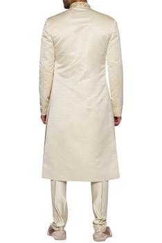 Victorian Style Sherwani With Kurta & Pants