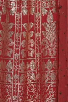 Zari & sequin embroidered lehenga set