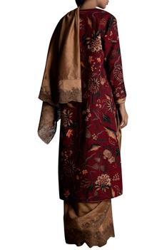 Resham Embellished Scallop border Sari