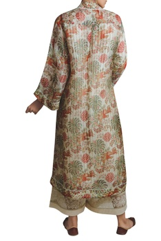 Kantha Embroidered Kadi Print Jacket