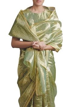Handwoven chanderi tissue Saree