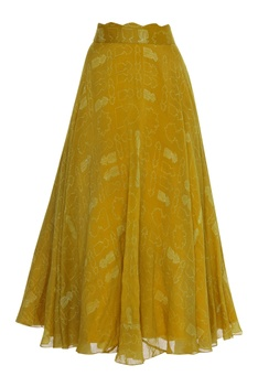 Embroidered Lehenga Set With Kamarbandh Baguette