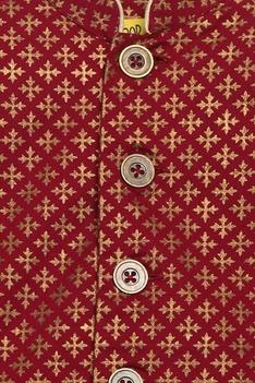 Printed full sleeves kurta with dhoti pants