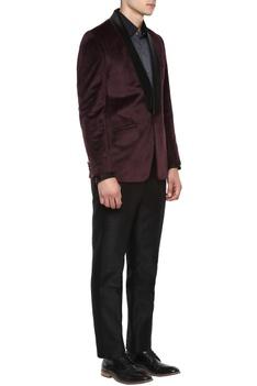 Wine & black tuxedo