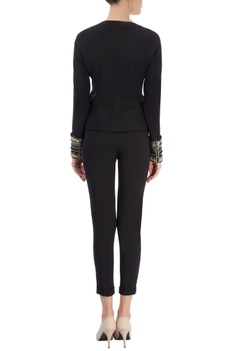 Black jacket & trousers