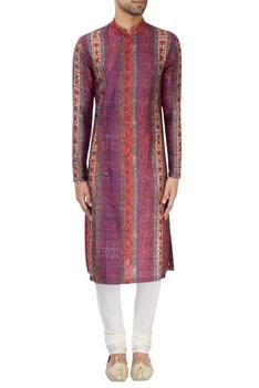 Multi-colored printed kurta