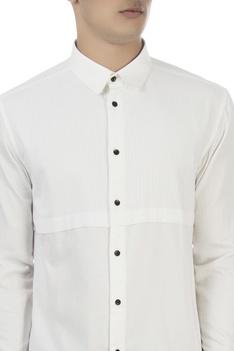 White oxford formal shirt